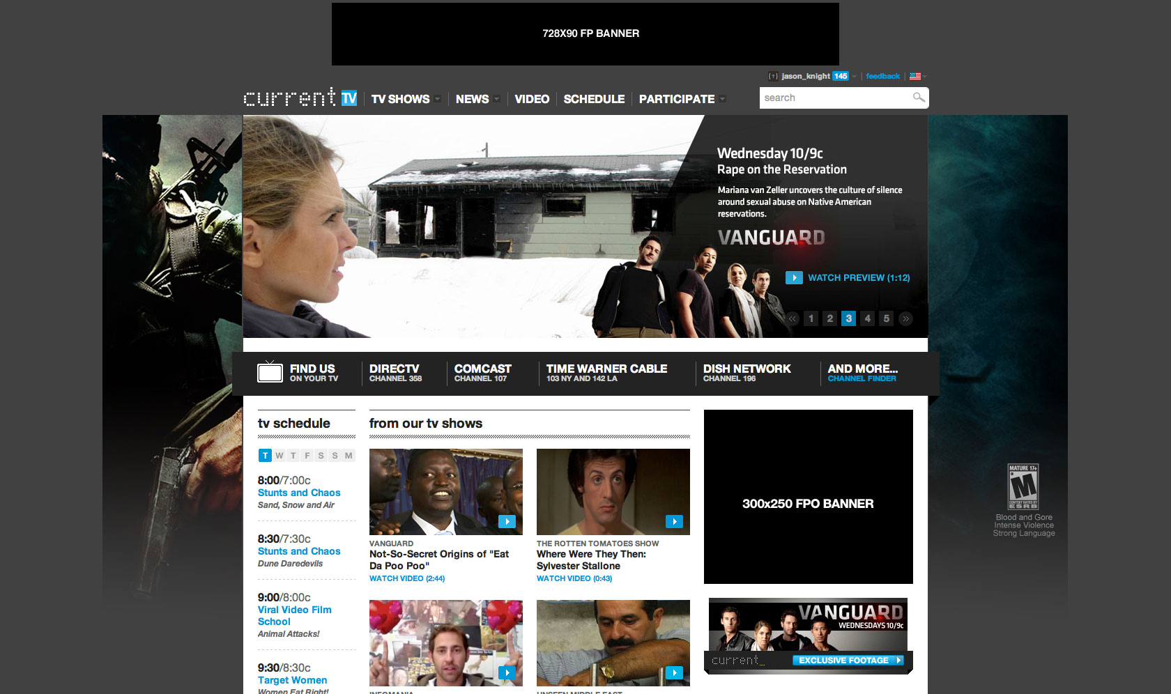Call of Duty Homepage Takeover