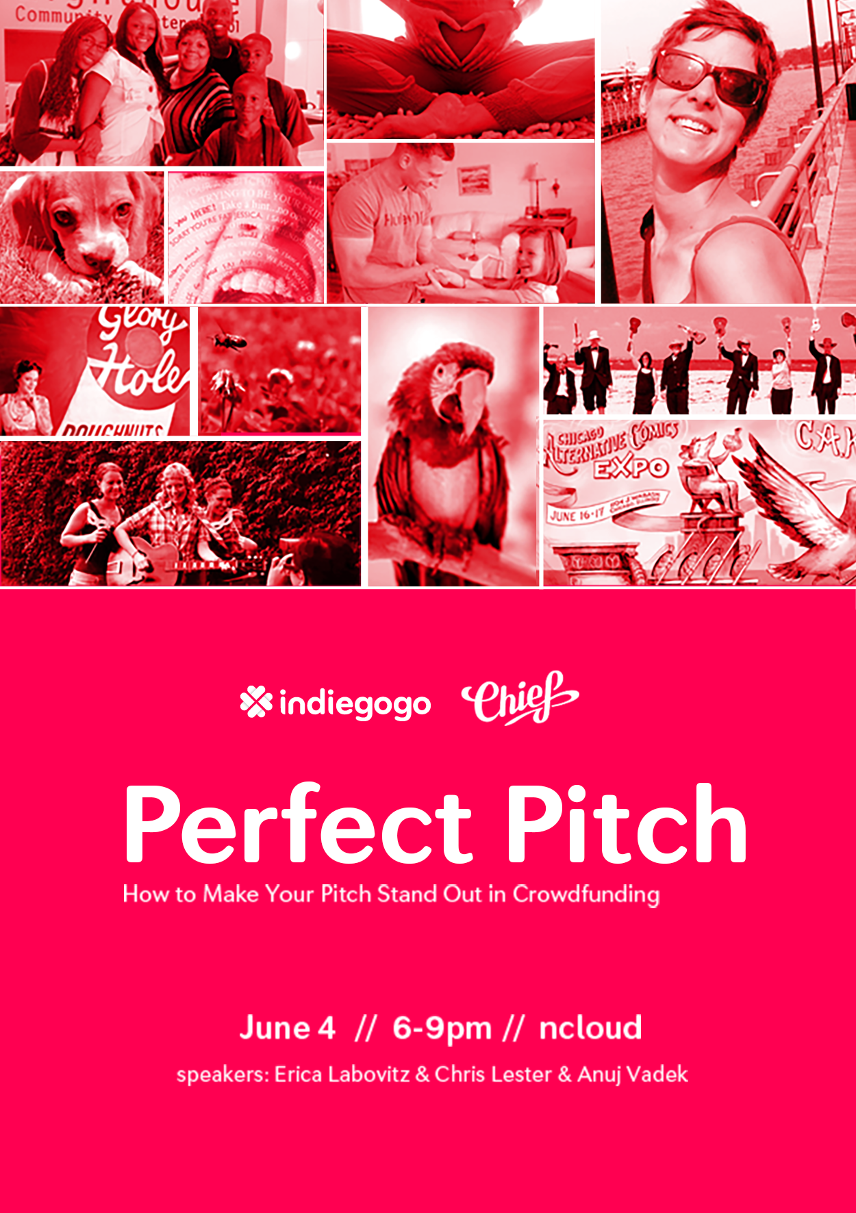 Indiegogo Event Poster
